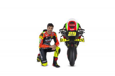 Iannone curious about the new Aprilia