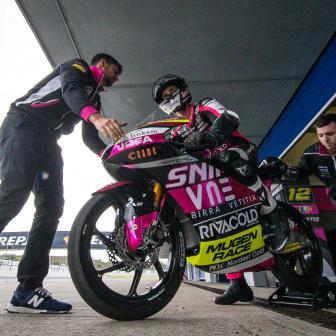 Fotogalerie des offiziellen Moto2™ u. Moto3™ Tests in Jerez