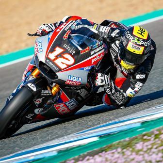 Lüthi beendet den Jerez-Test an der Spitze der Zeiten
