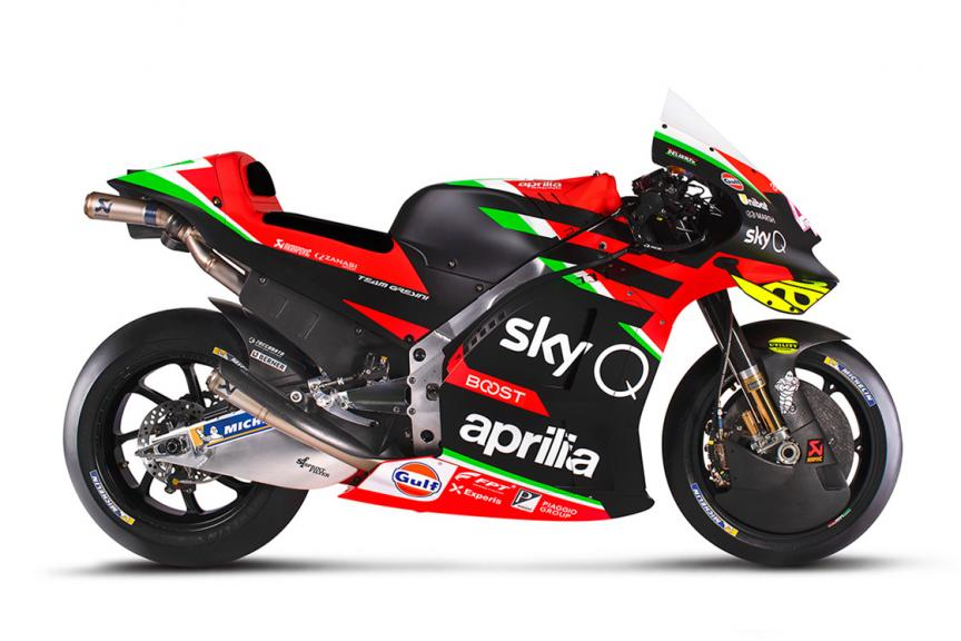 Photo gallery: Aprilia's 2020 launch