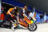 Kaito Toba, Red Bull KTM Ajo, Jerez Moto2™-Moto3™ Test
