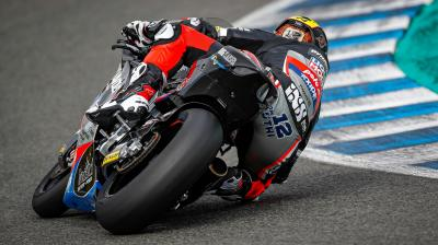 Lüthi leads the way on final day of Jerez Test