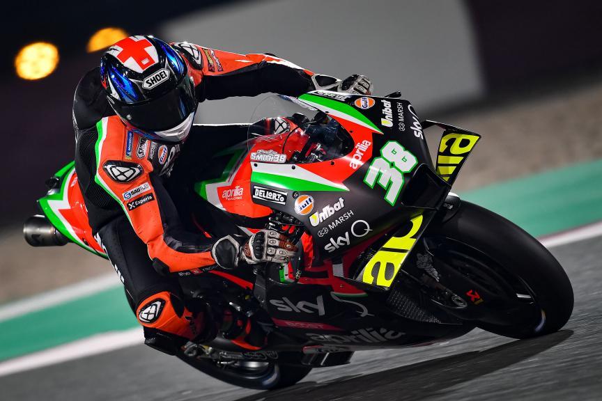 Bradley Smith, Aprilia Racing Team Gresini, Qatar MotoGP™ Test