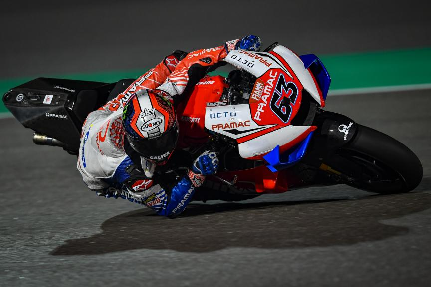 Francesco Bagnaia, Pramac Racing, Qatar MotoGP™ Test