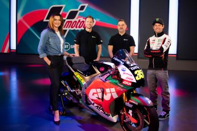 Crutchlow and BT Sport unveil 2020 LCR livery
