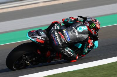 Qatar Test - Day 2 recap: fast Fabio tops test timesheets