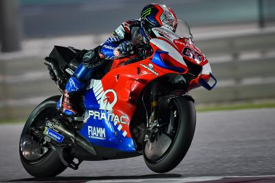 Bagnaia decolla con la Ducati in Qatar