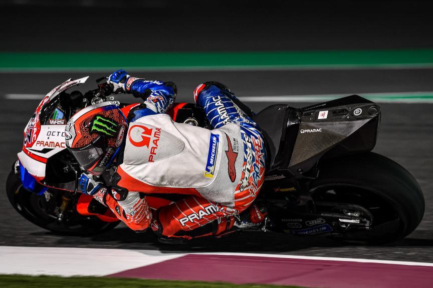 Francesco Bagnaia, Pramac Racing, Qatar MotoGP™ Test