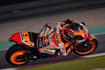 "Marc Marquez: ""I'm struggling more here"""