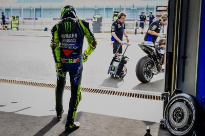 """Rossi: """"Es como Moto2™, esto es genial para la afición"""""""