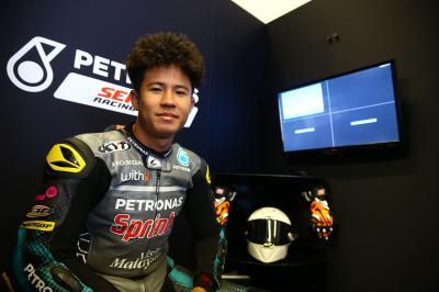 Pawi torna in Moto3™ dopo l'operazione
