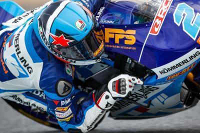 Rodrigo marca el ritmo de Moto3™ en Qatar