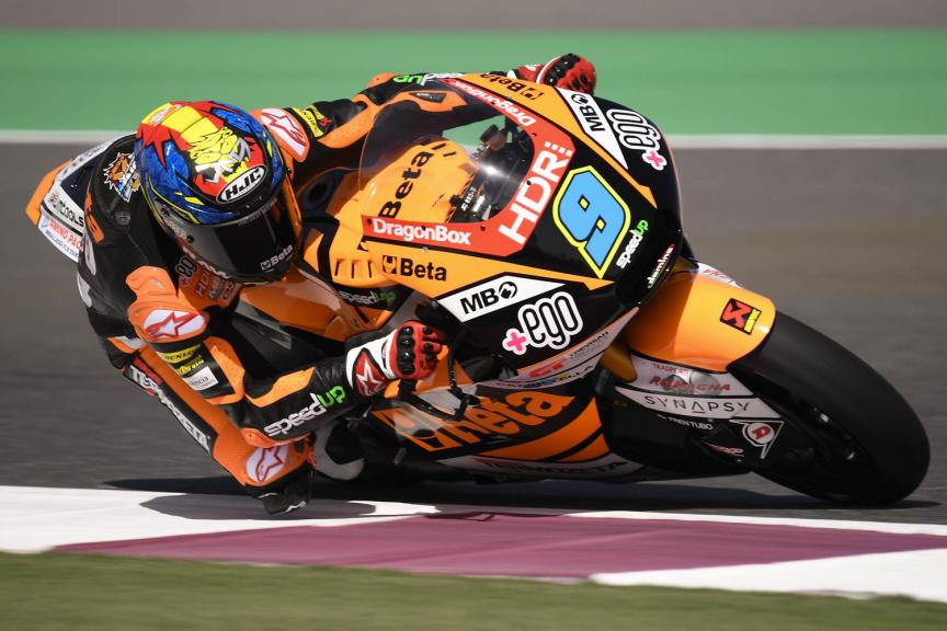 Jorge Navarro, Speed Up Racing, Qatar Moto2™ Test
