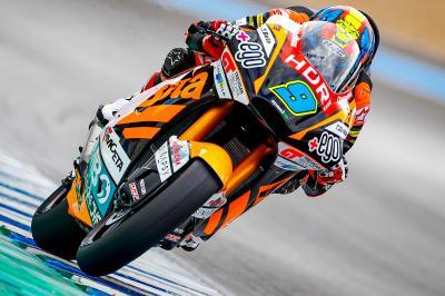 Moto2™ Qatar Test: Top 3 on Day 1