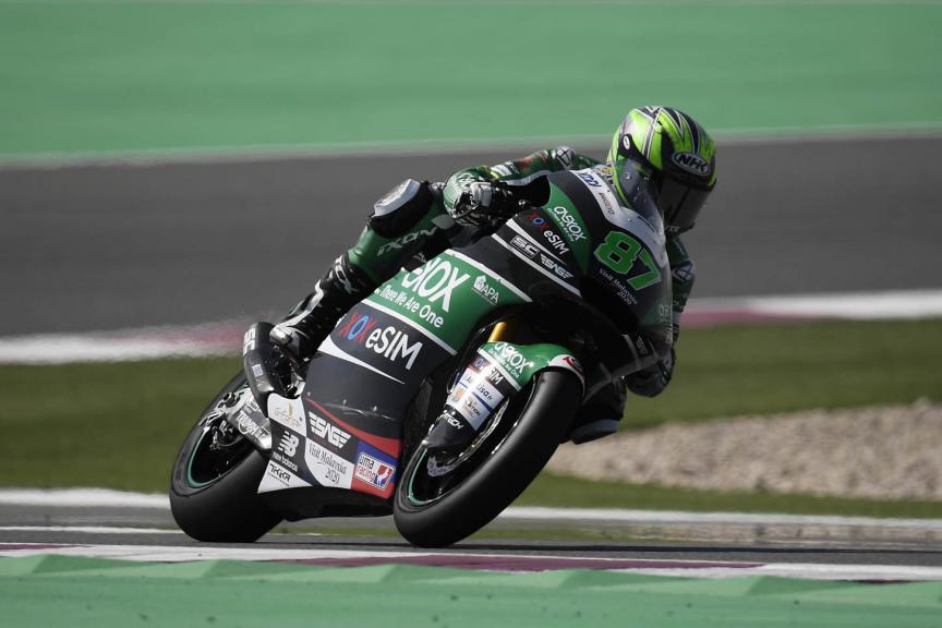 Remy Gardner, Onexox TKKR Sag Team, Qatar Moto2™ Test