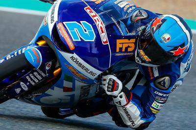 Moto3™ Qatar-Test: Top 3 an Tag 1