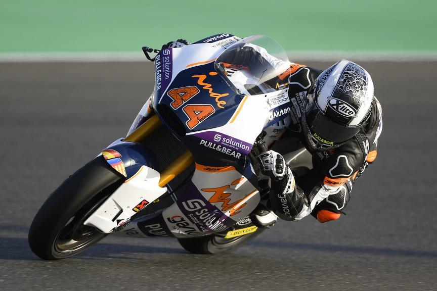 Aron Canet, Aspar Team, Qatar Moto2™ Test