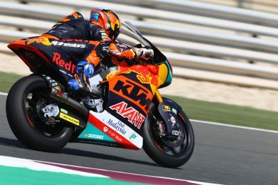 Martin domina la classifica dei tempi in Qatar