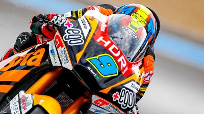 Moto2™ Qatar Test: Top 3 on Day 3