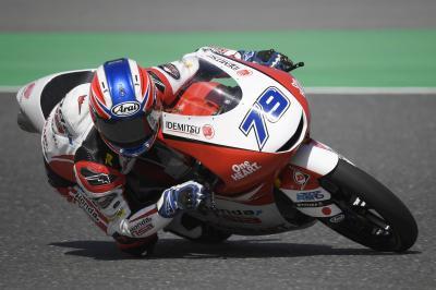 Moto3™ Qatar Test: Top 3 on Day 3
