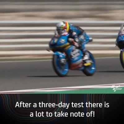 The #Moto2 & #Moto3 season is just around the corner