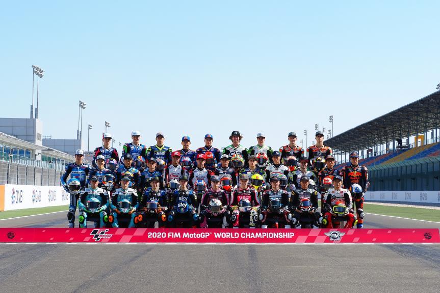 Photoshooting Qatar Moto3