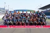 Photoshooting Qatar Moto2