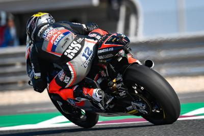 Lüthi fastest in Moto2™ FP1, top five split by just a tenth