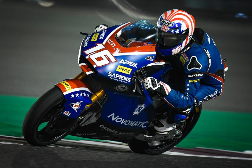 Joe Roberts, American Racing, QNB Grand Prix of Qatar