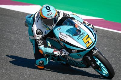Masià y Martín rompen el récord de velocidad punta de Qatar