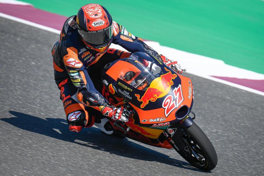 Kaito Toba, Red Bull KTM Ajo, QNB Grand Prix of Qatar