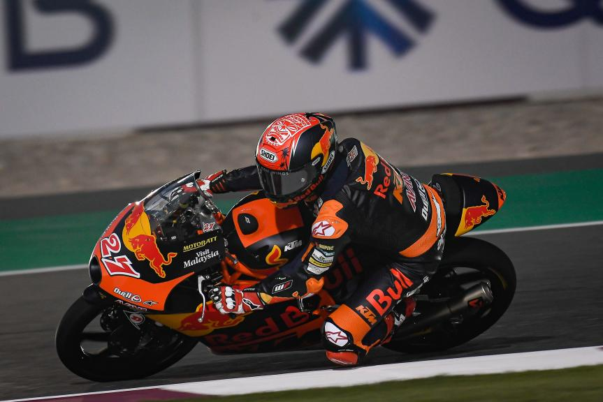 Kaito Toba, Red Bull KTM Ajo, QNB Grand Prix of Qatar