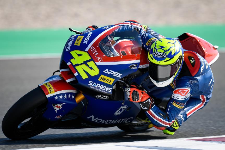 Marcos Ramirez, American Racing, QNB Grand Prix of Qatar