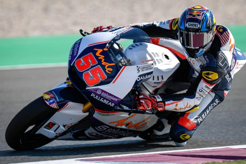 Hafizh Syahrin, Aspar Team, QNB Grand Prix of Qatar
