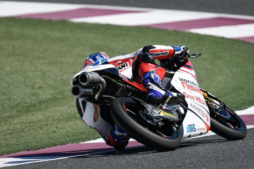 Ai Ogura, Honda Team Asia, QNB Grand Prix of Qatar
