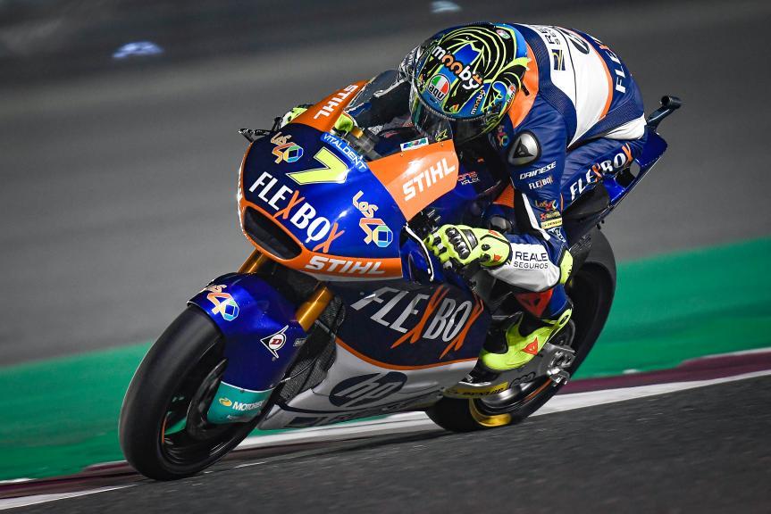 Lorenzo Baldassarri, Flexbox HP 40, QNB Grand Prix of Qatar