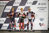 Tatsuki Suzuki, Raul Fernandez, Albert Arenas, QNB Grand Prix of Qatar