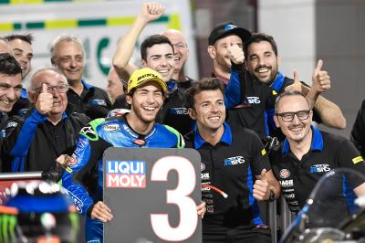 'The first time is always incredible' - Bastianini