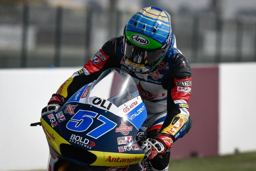 Edgar Pons, Federal Oil Gresini Moto2, QNB Grand Prix of Qatar