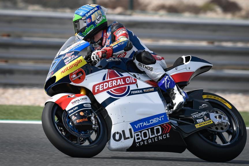 Edgar Pons, Federal Oil Gresini Moto2, QNB Grand Prix of Qatar