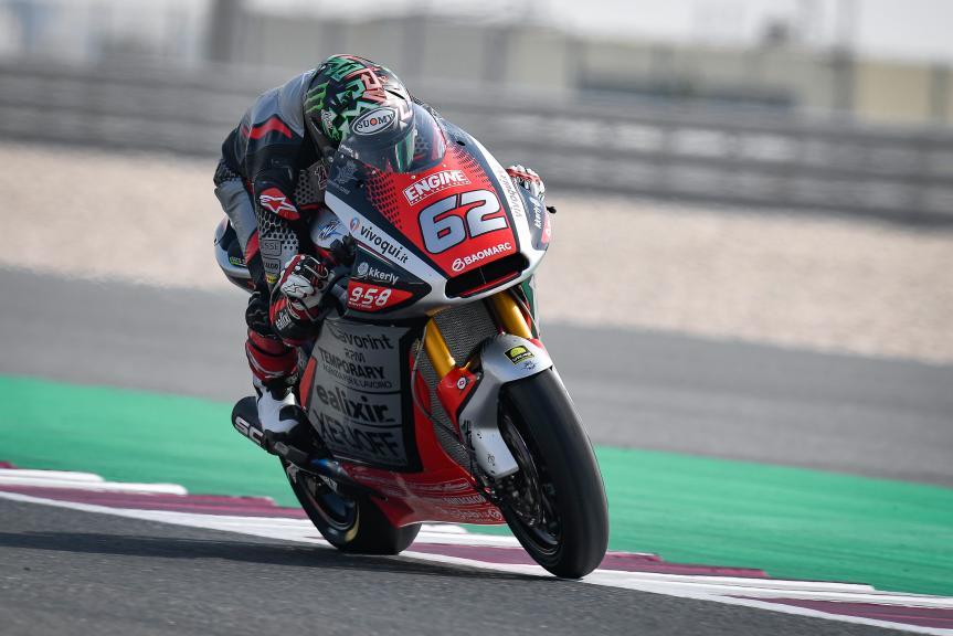 Stefano Manzi, MV Agusta Temporary Forward, QNB Grand Prix of Qatar