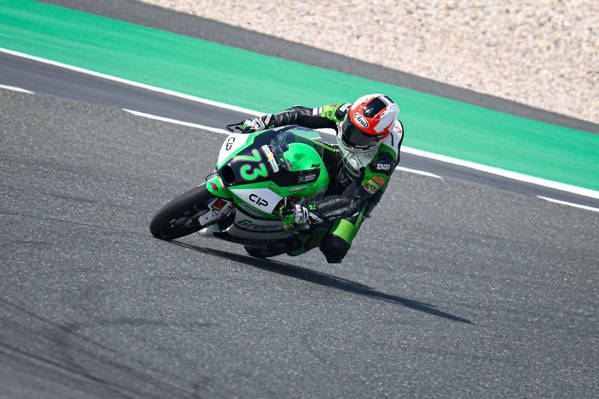 Maximilian Kofler, CIP Green Power, QNB Grand Prix of Qatar