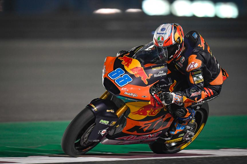 Jorge Martin, Red Bull KTM AJO, QNB Grand Prix of Qatar