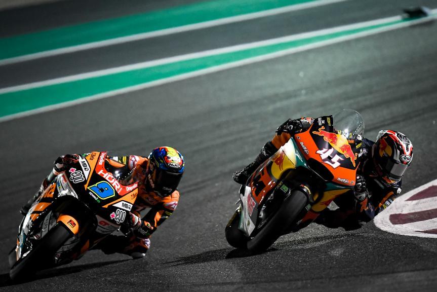 Jorge Navarro, Tetsuta Nagashima, QNB Grand Prix of Qatar