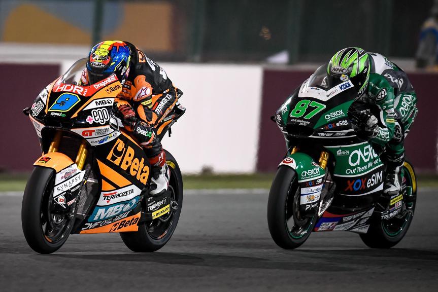 Jorge Navarro, Rem Gardner, QNB Grand Prix of Qatar