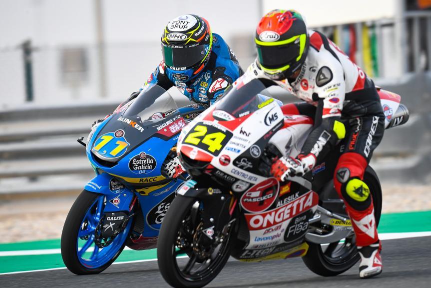Sergio Garcia, Tatsuki Suzuki, QNB Grand Prix of Qatar
