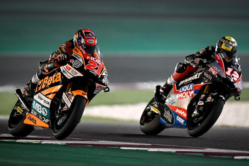 Fabio Di Giannantonio, Thomas Luthi, QNB Grand Prix of Qatar