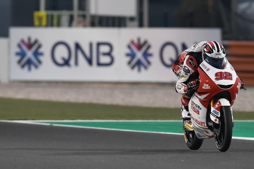 Yukii Kunii, Honda Team Asia, QNB Grand Prix of Qatar