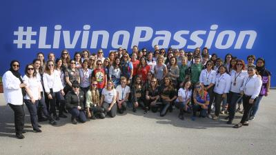 Happy #InternationalWomensDay from all the women that make #MotoGP happen!