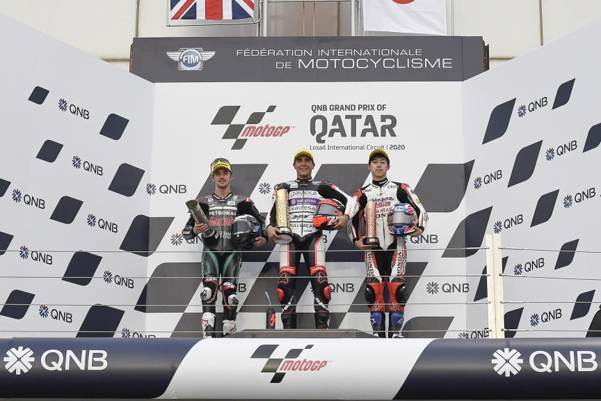 John Mcphee, Albert Arenas, Ai Ogura, QNB Grand Prix of Qatar
